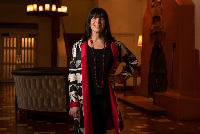 Jenny Kimball, Chair of the board, La Fonda on the Plaza, Santa Fe, New Mexico Magazine