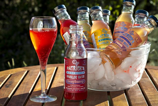 Patrick's Probiotic Sparkling Water, Cocktail, Refreshment, New Mexico Magazine