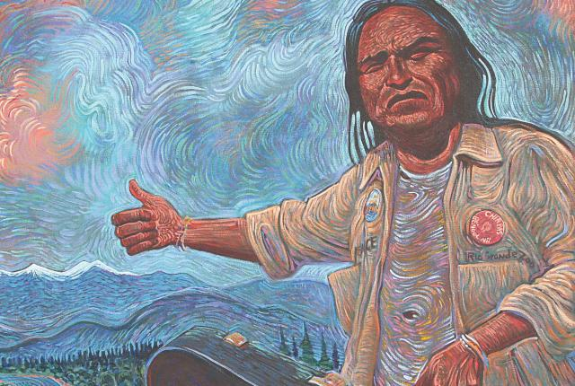 Shonto Begay, Rhythms from the Edge of the Rez