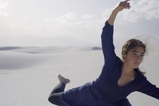 Safiya Zavala-Sweet in the NDI New Mexico film Vastness