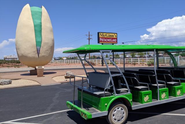 World's Largest Pistachio, U.S. 54, Alamogordo, New Mexico Magazine