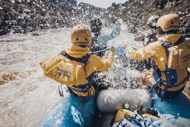 Whitewater Rafting Rio Grande
