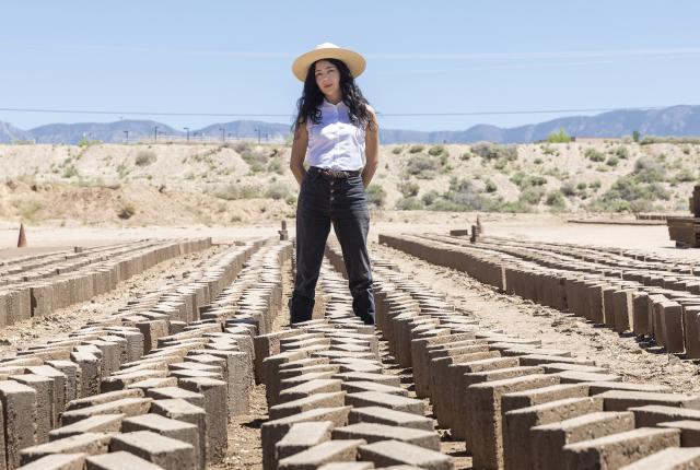 Joanna Keane Lopez, Adobe Artist, New Mexico Magazine