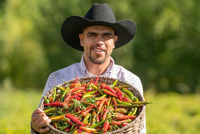 José Gonzales, Chile Farmer, Alcalde, New Mexico Magazine