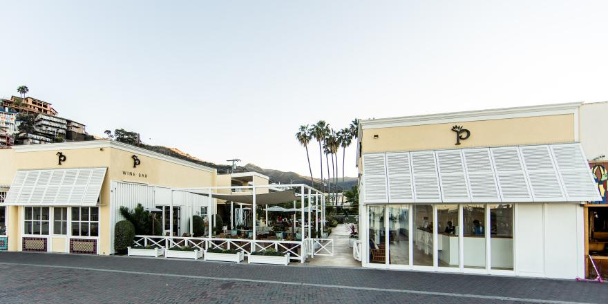 Exterior of the Pavilion Hotel in Avalon on Catalina Island