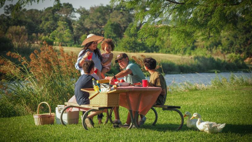 Family Picnic at Lady Bird Park