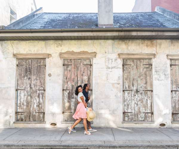French Quarter Couple