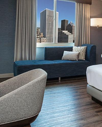 Hyatt Hotel Room