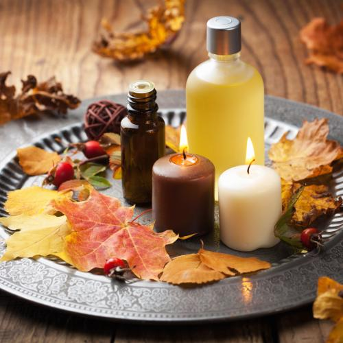 Fall spa items