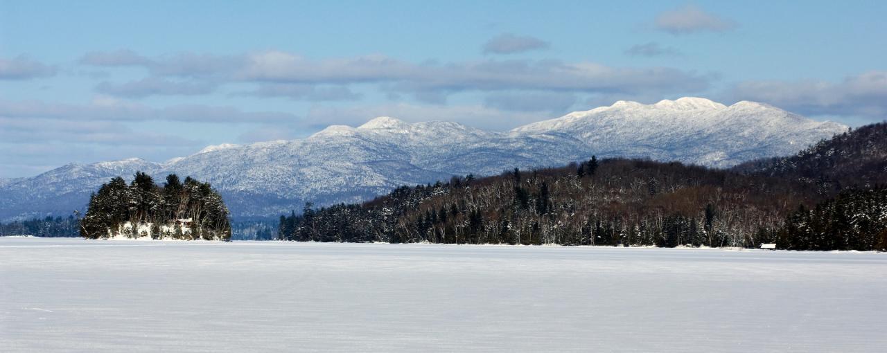 Long Lake and the Adirondack High Peaks