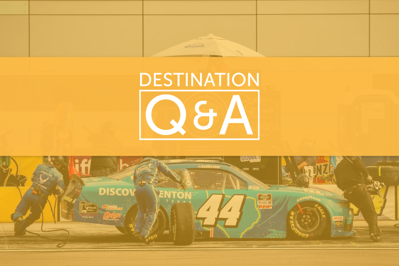 Discover Denton NASCAR Q&A