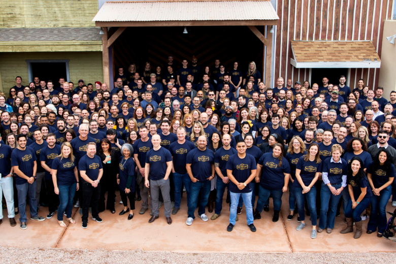 Simpleview Team Photo Retreat 2019