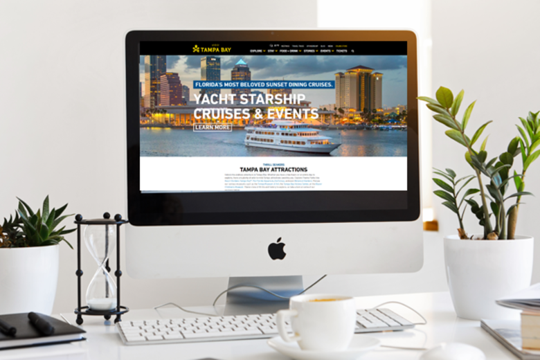 Yachts and Water Taxis Ride the Wave of Digital Content to Get More Visitors in Tampa Bay Header