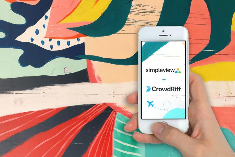 DM- Simpleview + CrowdRiff Partnership Announcement- July 2020