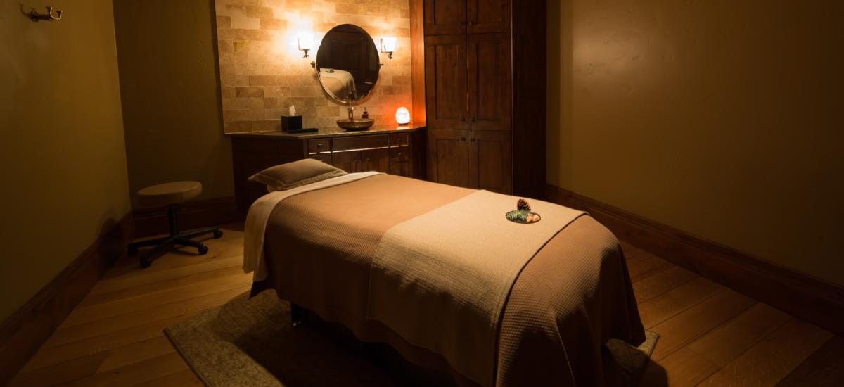 Treatment Room at the Spa at Stein Eriksen Lodge