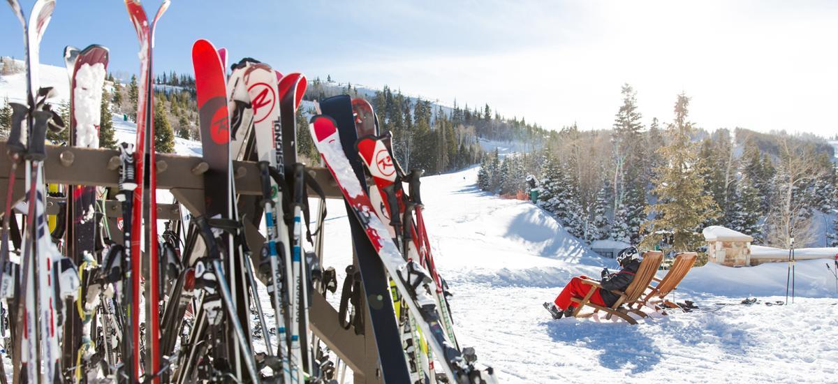 Ski Rack at Deer Valley