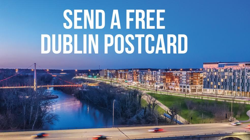 Send a Free Dublin Postcard