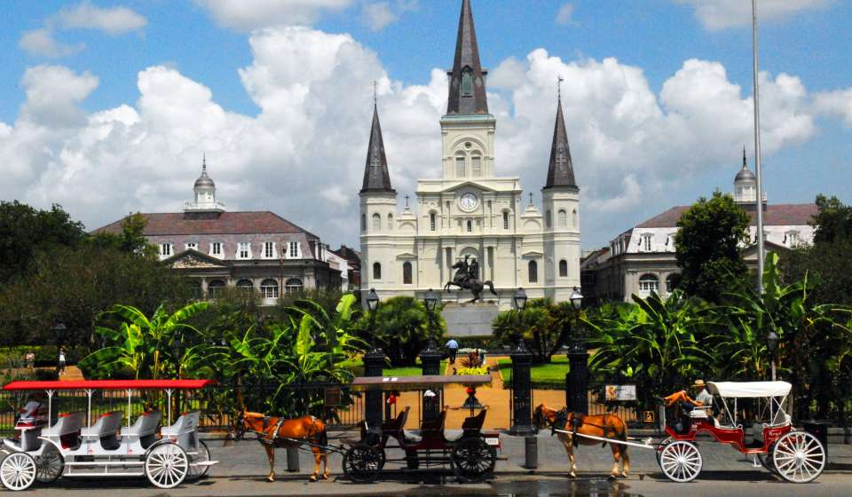 St. Louis Cathedral & Jackson Square
