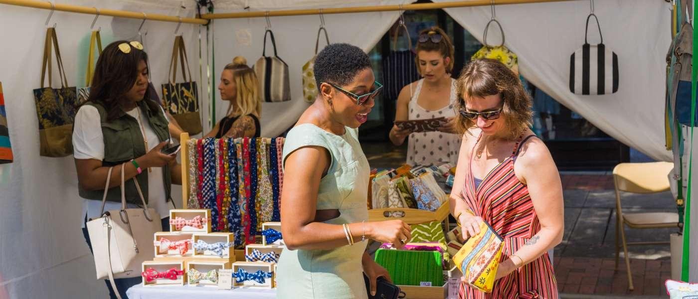 women shopping nana by sally bags