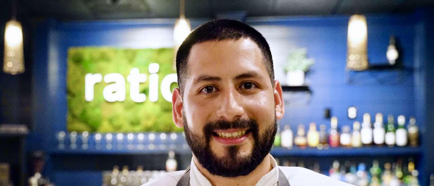 Headshot of Chef Javier Uriate