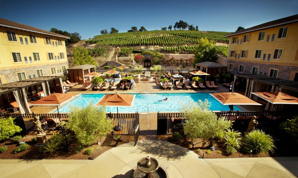 Meritage Resort & Spa pool