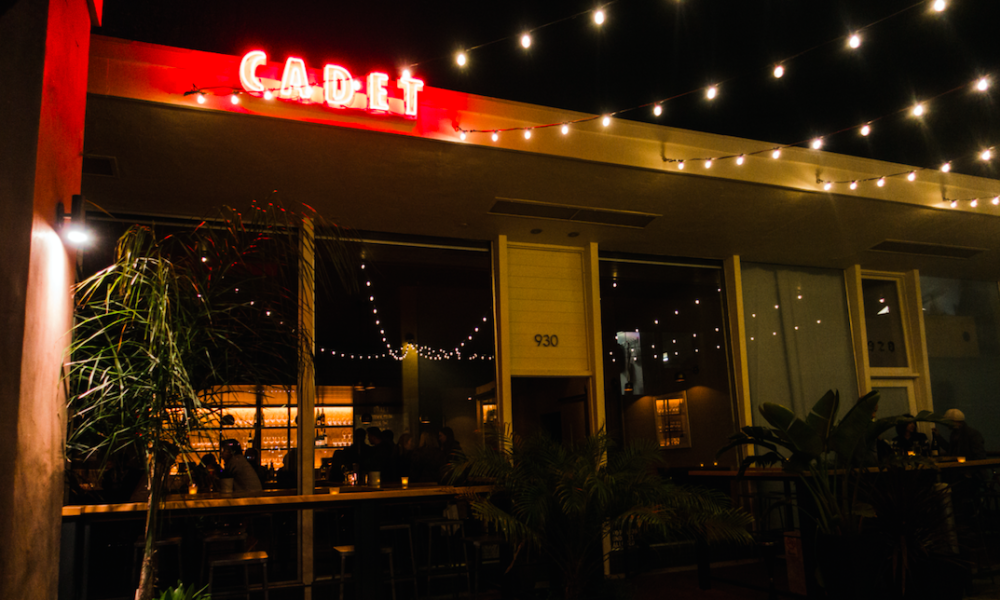 Patio Lights at Cadet Wine and Beer Bar in Napa