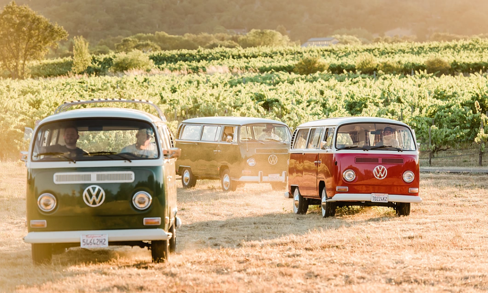 West Wine Tours VW Bus