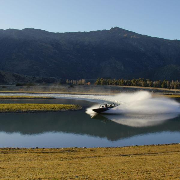 Sprint jet boats at Oxbow Adventure Co