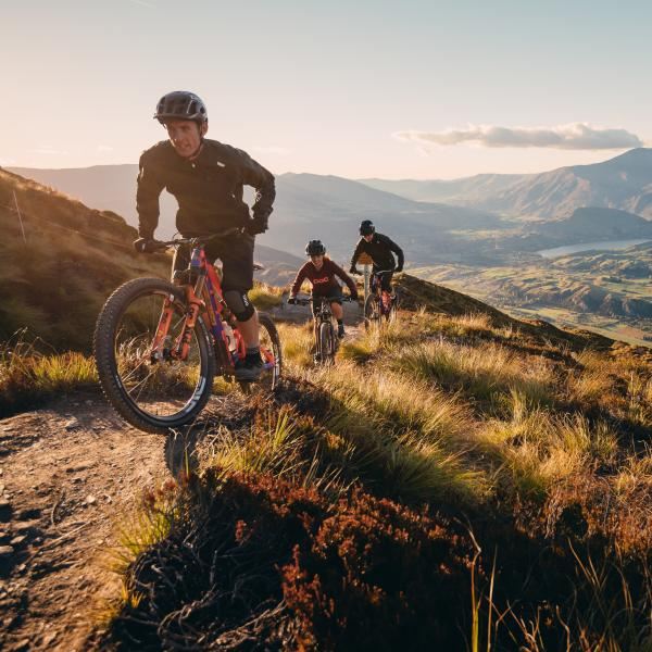 Mountain Biking Coronet Peak