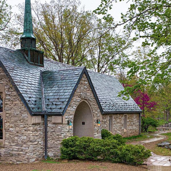 Exterior of Beck Chapel