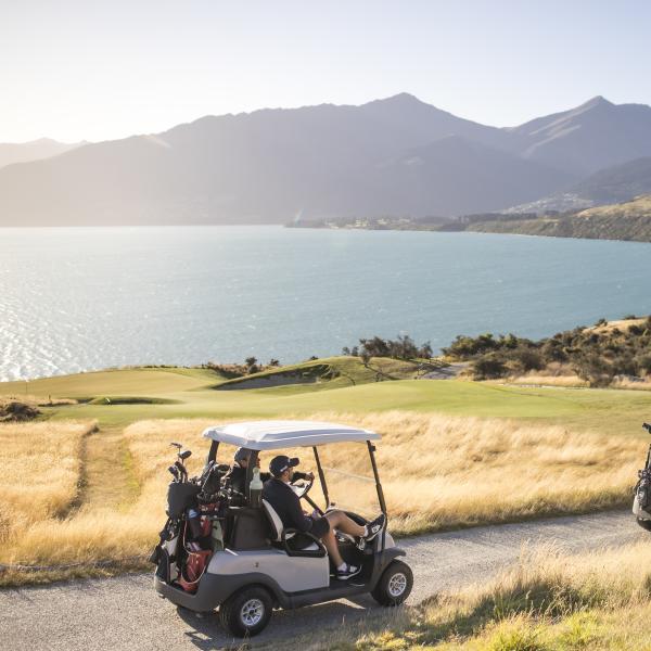 Golf Carts at Jack's Point