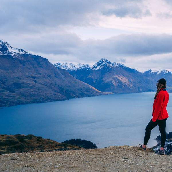 Hiking Queenstown Hill in Spring