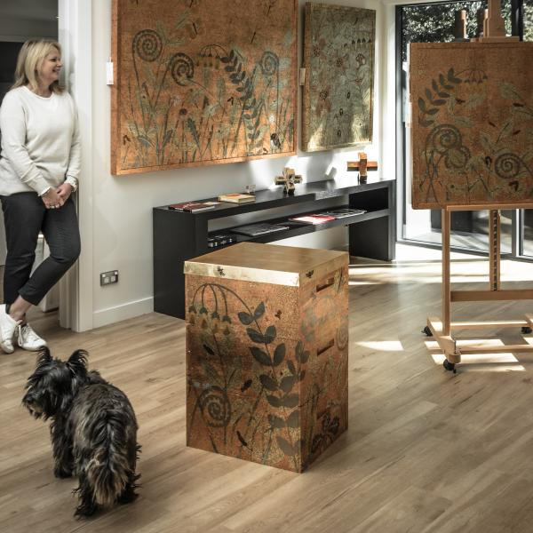 Jenny Mehrtens in her Arrowtown Studio by Emma Westwood