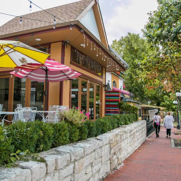 4th street patio in Bloomington, IN