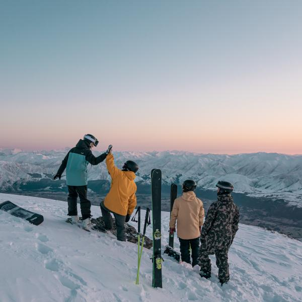 Sunrise at The Remarkables