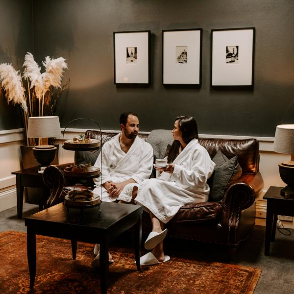 Couples spa treatment at The Vault