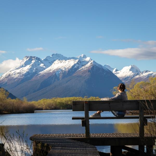 Glenorchy Lagoon Walkway. Photo credit: Bernardo Barbosa