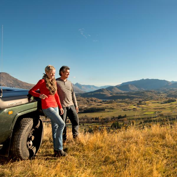 Views over Arrowtown with Nomad Safaris