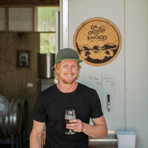 Jay Sherwood, Lake & Wood Brewery