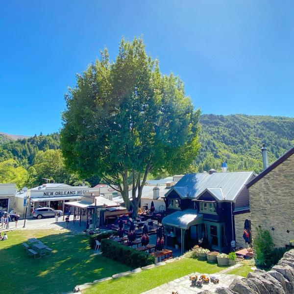 Arrowtown Green in Summer