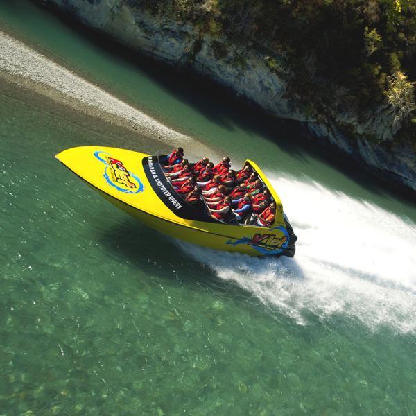 KJet Jet boat ride