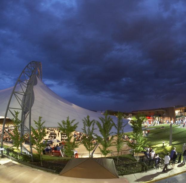 Sprint Pavilion Show