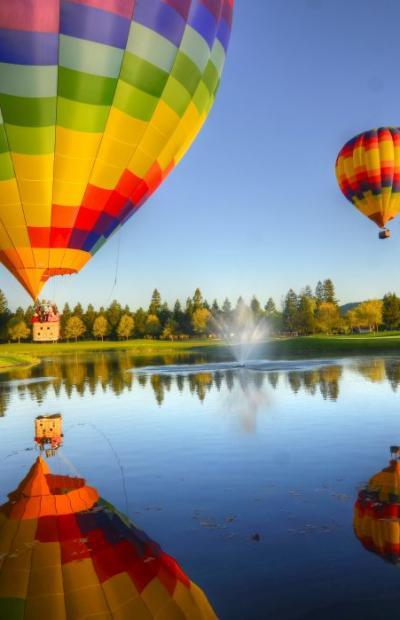 Hot Air Balloons in Napa Valley