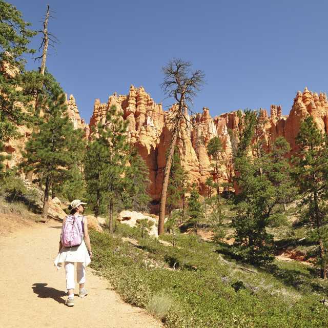 Hiking in Red Canyon Utah