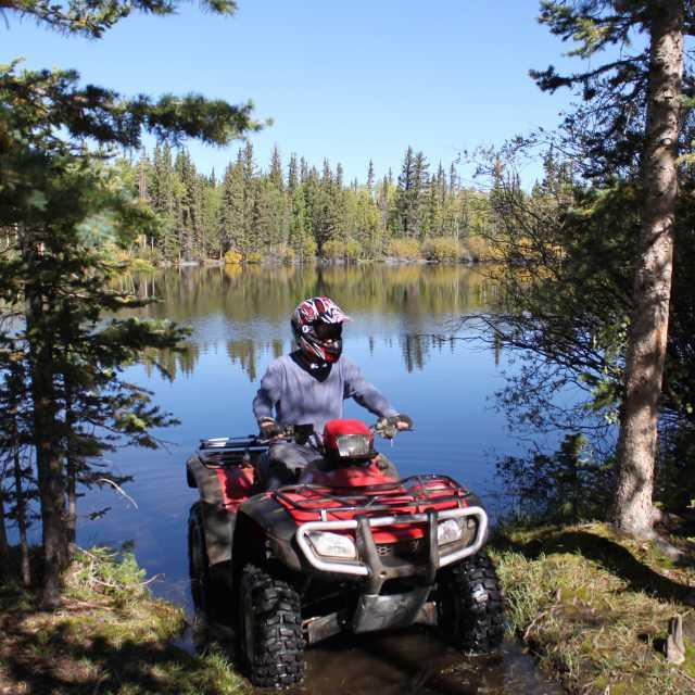 Boulder Mountain Utah Lake ATV Riding