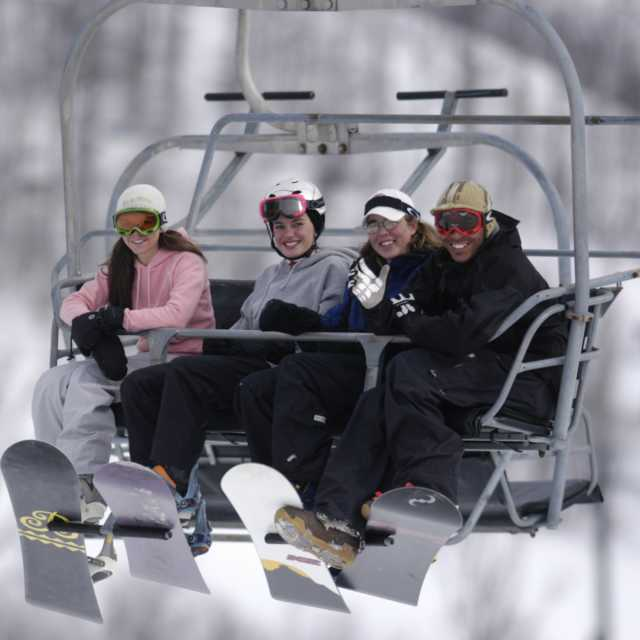 Chairlift at Roundtop Mountain Resort