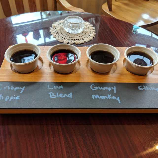 Village Coffee & Cream- coffee tasting