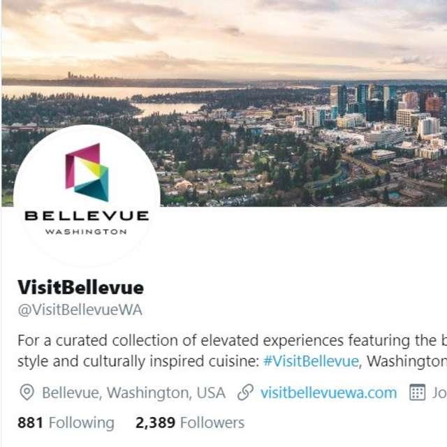 Visit Bellevue Twitter