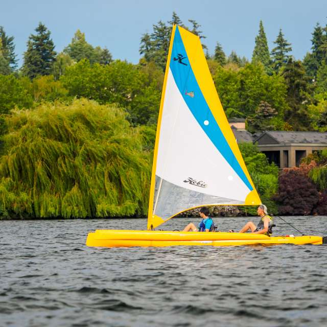 Lake Washington Sailboat