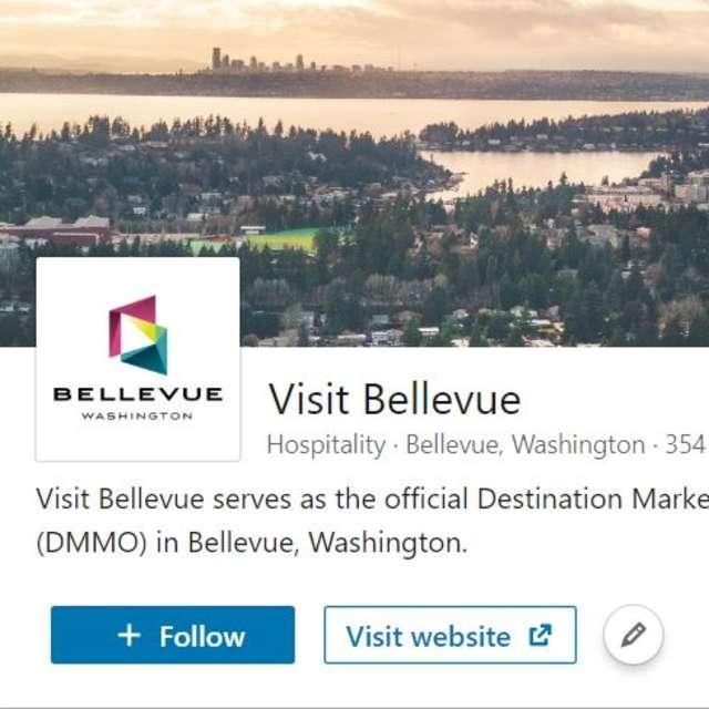 Visit Bellevue LinkedIn